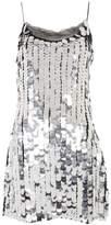 Topshop Disco sequin embellished slip dress