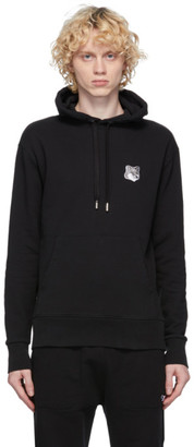 MAISON KITSUNÉ SSENSE Exclusive Black Fox Head Hoodie