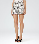 Reiss Caggie Printed Shorts