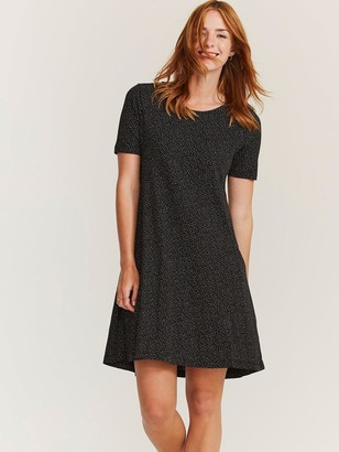 Fat Face Emilie Floating Bloom Dress - Black