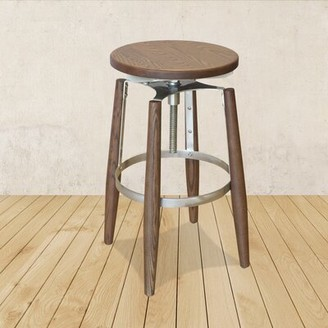 Restaurant Products Guild Metal Adjustable Height Swivel Bar Stool