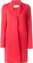 Harris Wharf London - single breasted coat - women - Polyamide/Spandex/Elastane - 42
