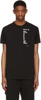 Hood by Air Black Homepage T-shirt