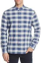 John Varvatos Plaid Long Sleeve Button-Down Shirt