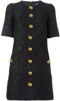 Dolce & Gabbana brocade buttoned dress