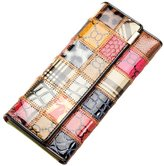 Surker Women Fashion Folded Leather Wallet Clutch Purse Lady Handbag Bag