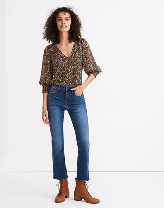 Madewell Petite Cali Demi-Boot Jeans in Lockwood Wash