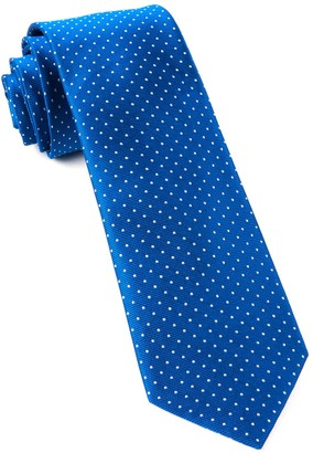 Tie Bar Mini Dots Royal Blue Tie