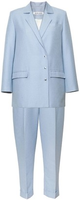 Diana Arno Blake Suit In Dreamy Blue