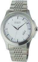 Gucci 44mm G-Timeless XL Automatic Bracelet Watch, Silver