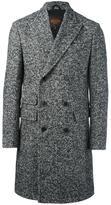 Tod's chevron pattern coat