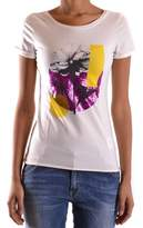 Liu Jo Women's White Cotton T-shirt.