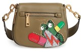 Marc Jacobs Small Nomad Leather Crossbody Bag - Green