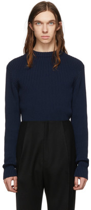 Bottega Veneta Navy Cotton Sweater