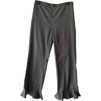 And other stories & & Stories Grey Trousers for Women