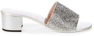 Giuseppe Zanotti kanda Embellished Suede Sandals