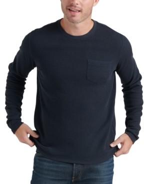Lucky Brand Men's Ribbed Pocket Sweater