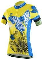Top Top Fashion Women's Short Sleeve Cycling Jersey Shirt Bike Tops Quick Dry Mountain Clothing (L, )