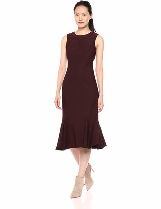 Adrianna Papell Women's Sleeveless Knit Modern Sheath Dress