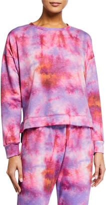 Onzie Tie Dyed High-Low Sweatshirt