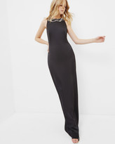 Ted Baker Low back embellished maxi dress