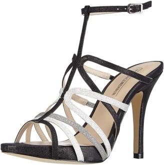 Menbur Womens Darro Ankle Strap Sandals Black Schwarz (Schwarz Multi 01) Size: 6
