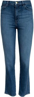 J Brand Jules High Rise Straight Jean