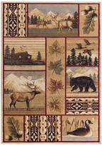 Khl Rugs KHL Rugs Scenic Wildlife Area Rug