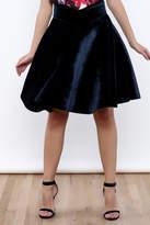 J.o.a. Velvet Skirt