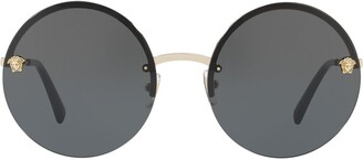 Versace Eyewear Medusa round-frame sunglasses
