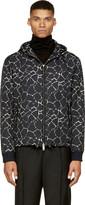 CNC Costume National Black Giraffe Print Jacket