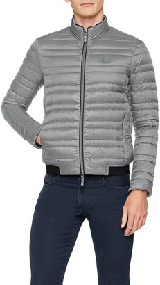 Ax Armani Exchange A X Armani Exchange Men's Long Sleeve Hooded Puffer