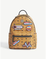 Mcm Stark Victory Patch Small Backpack