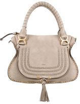 Chloé Medium Suede Marcie Satchel