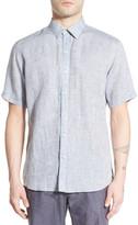 Zachary Prell 'Kaplan' Trim Fit Plaid Sport Shirt