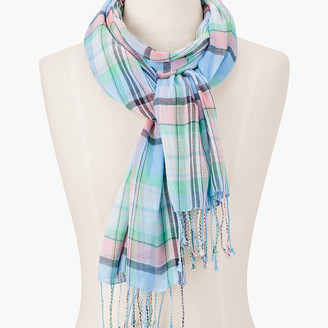 Talbots Magical Madras Oblong Scarf