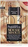 L'Oreal Superior Preference Mousse Absolue, 1031 Lightest Golden Blonde
