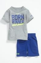 Under Armour 'Born Winner' T-Shirt & Shorts (Baby)