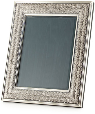 Buccellati Silver-Plated Double Linenfold Frame