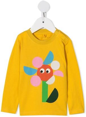 Stella McCartney floral print long-sleeve T-shirt