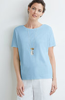 J. Jill Pure Jill Seamed Easy Tee