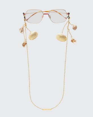 """Frame Chain Shellie Conch Chain with Shells, 26""""L"""