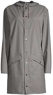 Rains Women's Long Hooded Raincoat