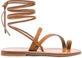 K. Jacques Ellada Ankle Wrap Sandal