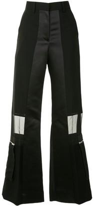 Sacai Sheer Panel Trousers