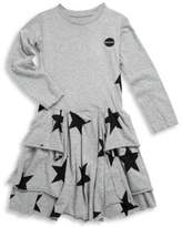 Nununu Toddler, Little Girl's & Girl's Star Cotton Dress