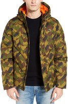 Lacoste L!VE Quilted Camo Jacket