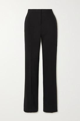 Carolina Herrera Wool-blend Slim-leg Pants - Black