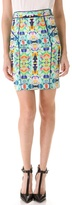 Milly Piped Pencil Skirt