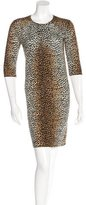 Dolce & Gabbana Leopard Knit Dress